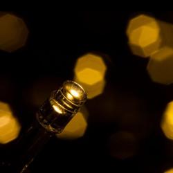 Vánoční 30 LED osvětlení - studeně bílé - 4,5m