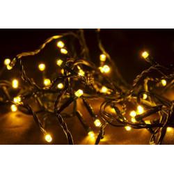 Vánoční LED osvětlení 10 m - studeně bílá, 100 diod