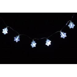 Vánoční LED osvětlení 4,5 m - modré, 50 diod