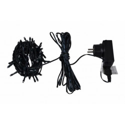 LED světelný kabel 10 m - barevná, 240 diod