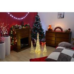 Vánoční LED osvětlení 18 m - teple bílé, 200 LED